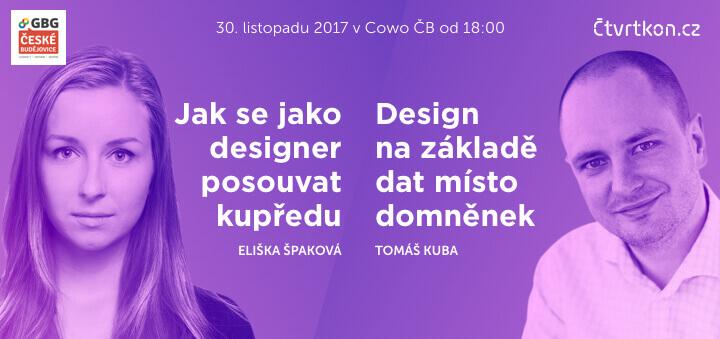 Čtvrtkon UX - Tomáš Kuba a Eliška Špaková