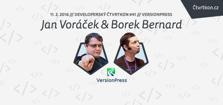 Čtvrtkon - Jan Voráček a Borek Bernard