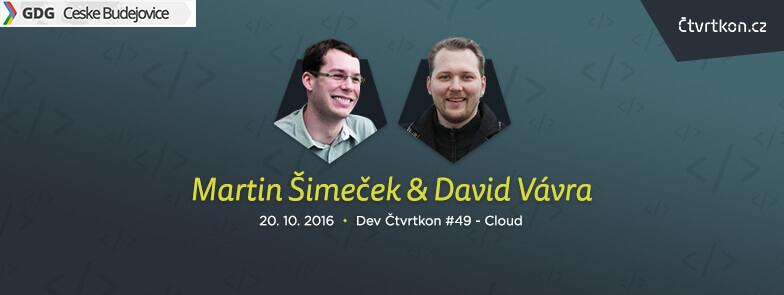 Čtvrtkon #49 - David Vávra a Martin Šimeček